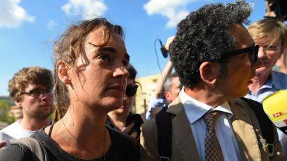 Carola Rackete interrogata dai magistrati di Agrigento