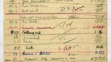 John Lennon's school detention sheet to go under the hammer