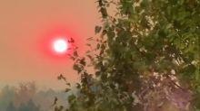 Cameron Peak Fire Turns Sky Orange in Lafayette