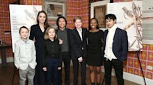 Angelina Jolie Just Stepped Out with All Six of Her Kids in NYC