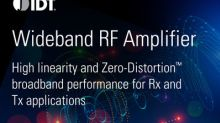 IDT Introduces New RF Amplifier with Superior Wide-Band and High Linearity Performance