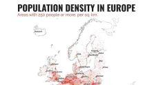 西班牙成歐洲人口最稠密國家 每平方公里住過萬人 ?