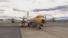 Huge tanker plane arrives in Whitehorse to help train firefighters