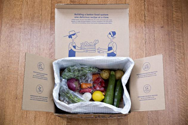 Meal kits might be better for the planet than a trip to the store