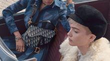 Dior Saddle Bag: Fragwürdige Kampagne zum Revival der legendären Tasche