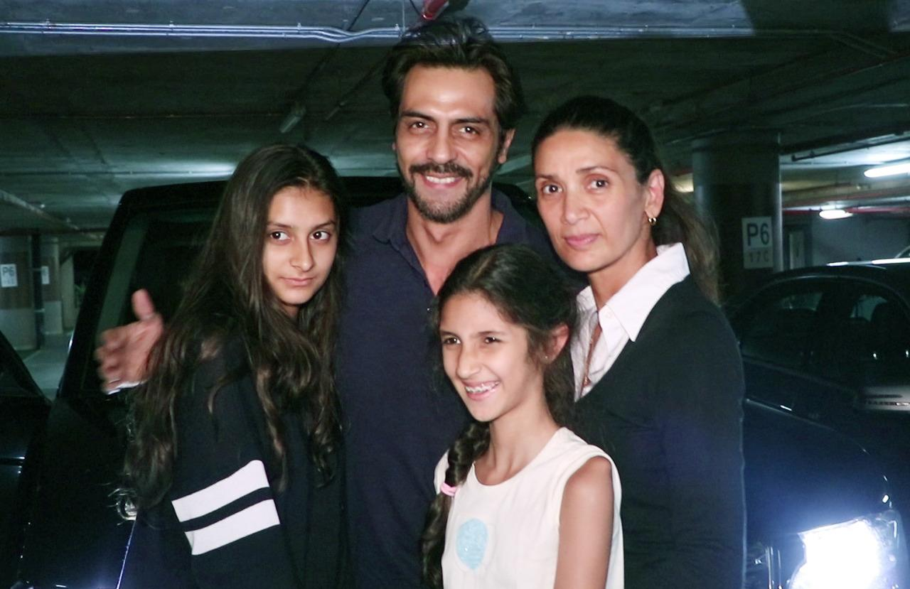 Image result for mehr arjun rampal family