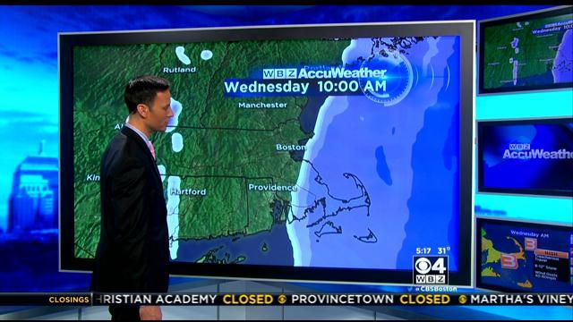 WBZ AccuWeather Forecast For March 26