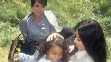Com 5 anos de idade, filha de Kim Kardashian estreia como modelo