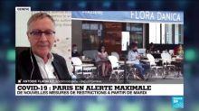 """Covid-19 : les nouvelles restrictions à Paris, """"très impactantes"""" et """"impopulaires"""""""