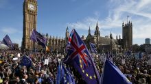 Thousands march in London against looming Brexit