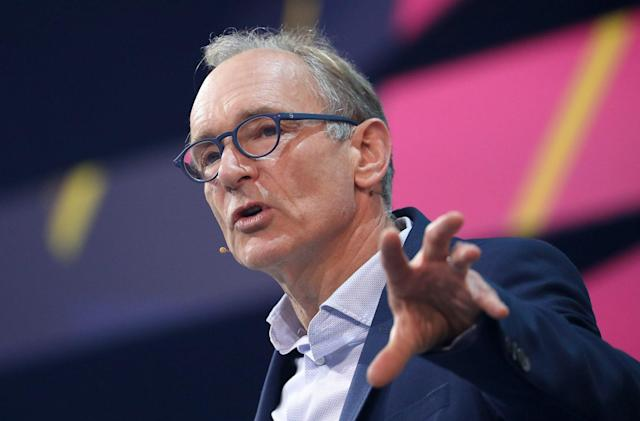 The creator of the web has a plan to save the web