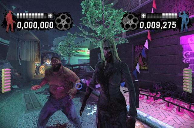 House of the Dead: Overkill 'Naked Terror' screens are fortunately clothed