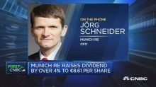 Happy about our numbers overall Munich Re CFO