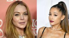 Lindsay Lohan throws major shade at Ariana Grande on Instagram