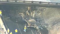 Tanker explodes on Tennessee highway, kills driver