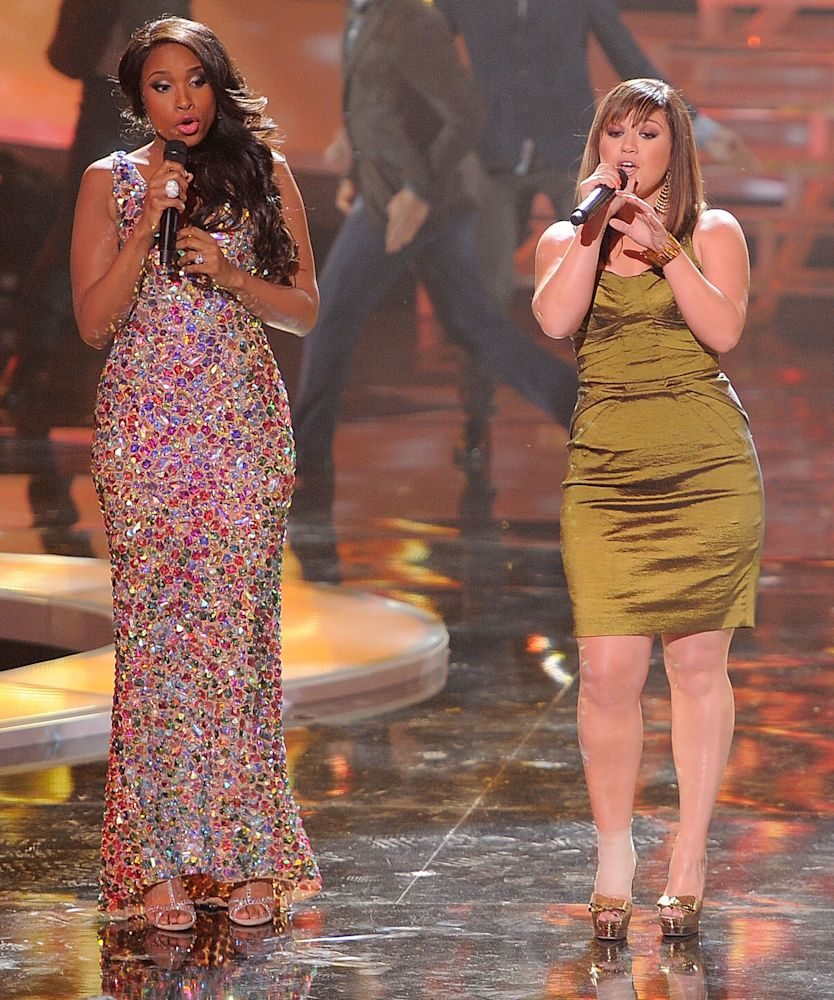 Jennifer Hudson and Kelly Clarkson