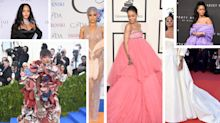 Rihanna's best fashion photos: The red carpet risk-taker's top style moments