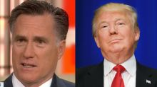 Mitt Romney Continues His Crusade Against Donald Trump on 'Today'