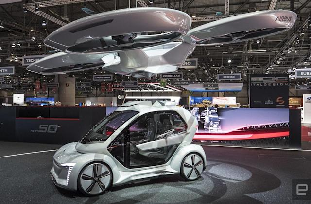 Audi gives Airbus' flying taxi concept a stylish makeover