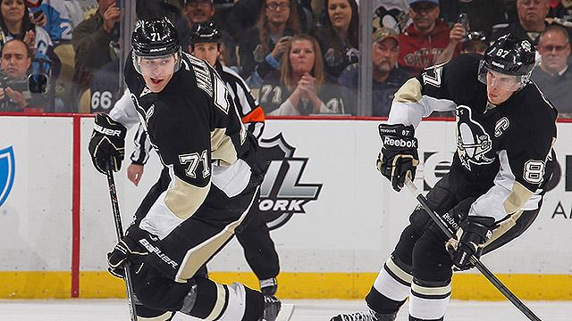 Is Evgeni Malkin outplaying Sidney Crosby?