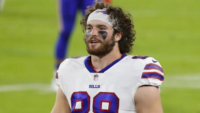 Bills' Knox, 3 other TEs put on COVID-19/reserve list