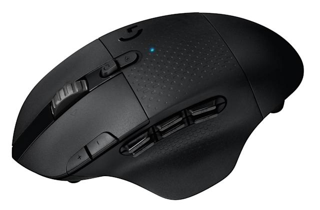 Logitech's newest lag-free gaming mouse is loaded with thumb buttons