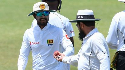 'Unconvincing': Chandimal banned for tampering