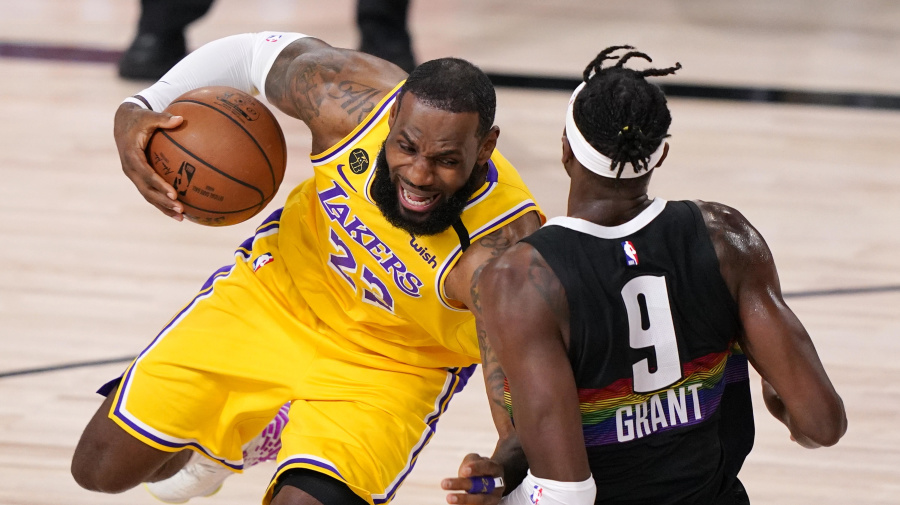 Guarding AD, LeBron all in a day's work for Grant