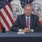 NYC mayor eyeing curfew after violence flares