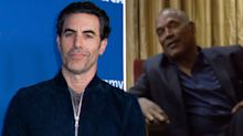 Sacha Baron Cohen was trained by an FBI interrogator for O.J. Simpson interview