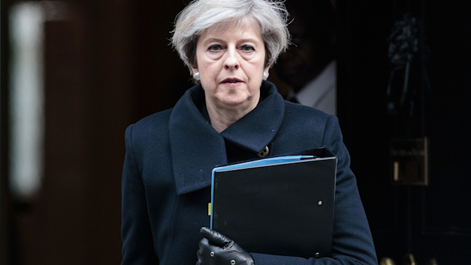 Theresa May to announce details of British legal shake-up next week to prepare for Brexit