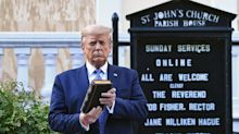 'The Bible is not a prop': Religious leaders, lawmakers outraged over Trump church visit