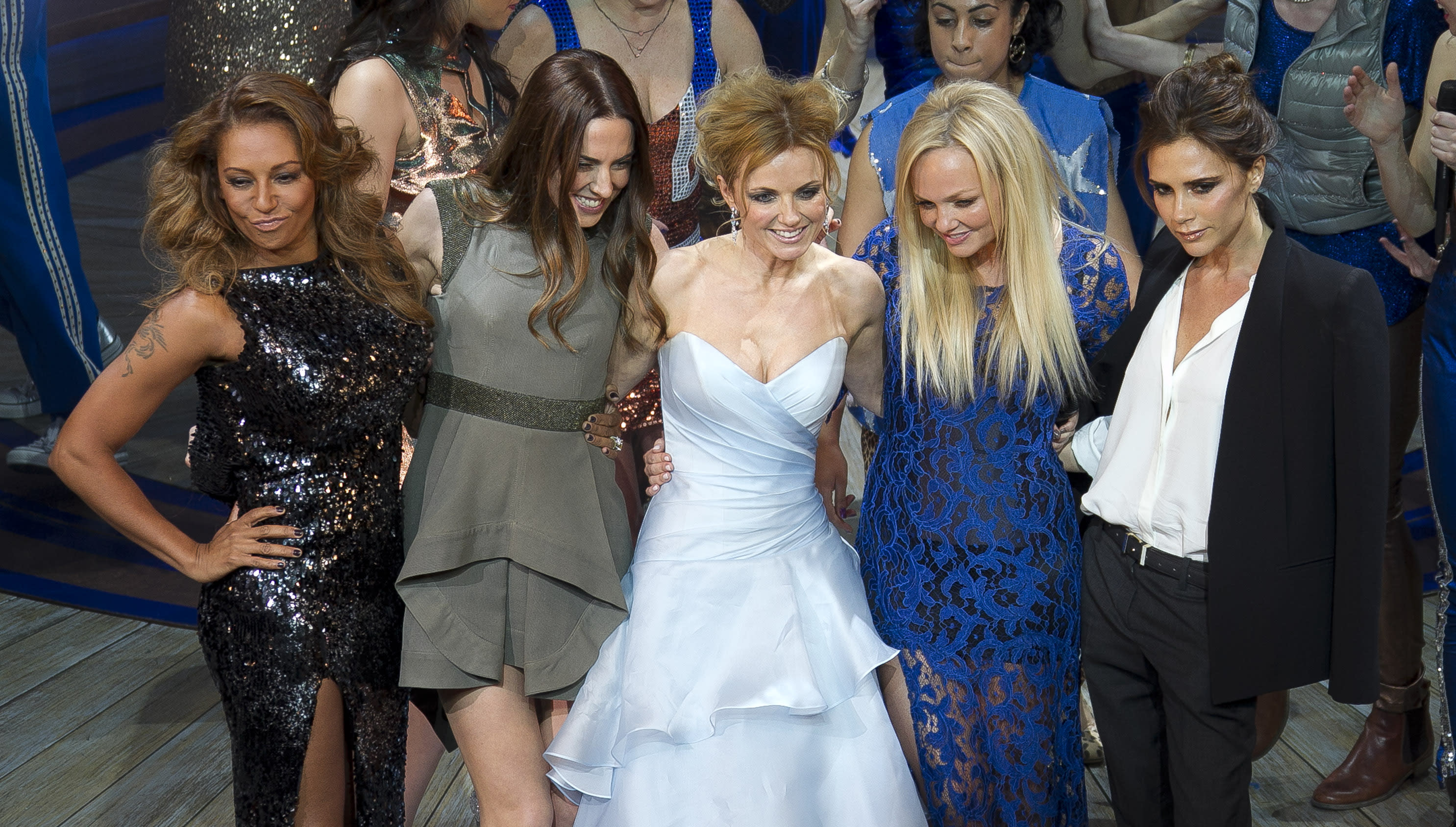 Victoria Beckham snubs Spice Girls Wembley gigs but A-Lister Emma Stone is there