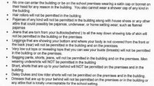 High school implements dress code for parents: 'I'm almost insulted'