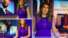 Pregnant newscaster responds to viewers offended by her tight dress: 'Use your time better'
