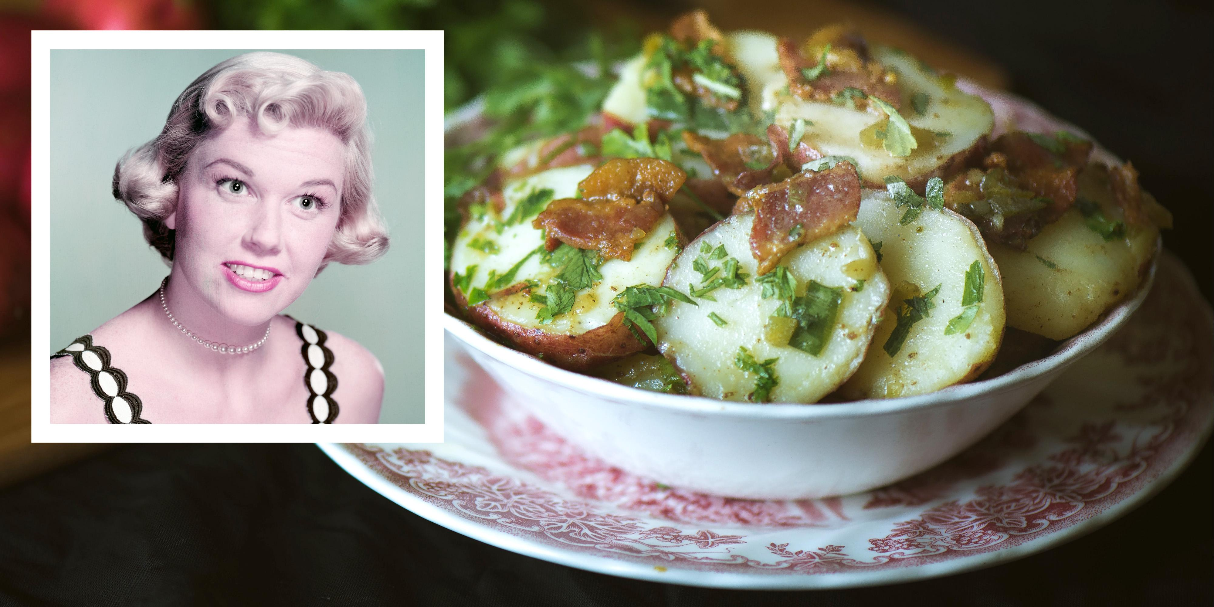 Doris days mayonnaise free potato salad recipe forumfinder Images