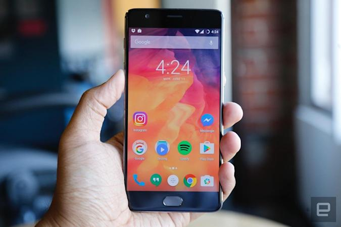 The OnePlus 3 gets its first taste of Android Nougat this month