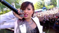 Demi Lovato Rocks Central Park