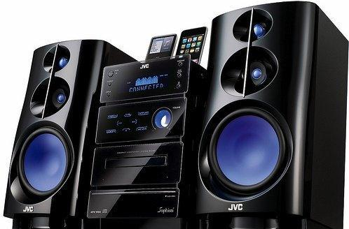 JVC unveils a wide array of ominous iPod docks