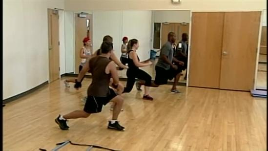 Former Eagles player offers fitness tips