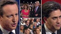 Cameron And Miliband Face Tough Questioning From Paxman And The Public