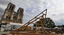 Notre-Dame : le démontage de l'échafaudage prendra encore un mois, selon Jean-Louis Georgelin