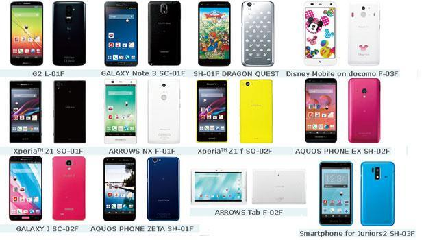 NTT Docomo's winter lineup arrives, includes Sony Xperia Z1 mini and Samsung Galaxy J