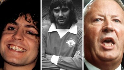 Glam rock, Ted Heath and George Best - England with Huddersfield in the top flight