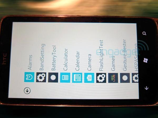 Mystery HTC Windows Phone 7 device: in the wild and lacking any Sense