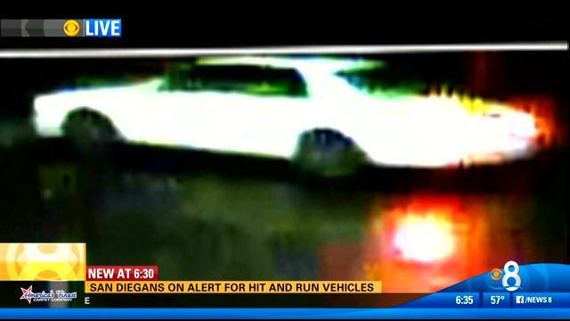 San Diegans on alert for hit-and-run vehicles