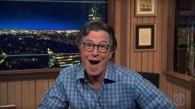 Stephen Colbert Celebrates 'Fox & Friends' Co-Host Steve Doocy's Trump Diss