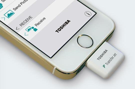 CES 2015: Toshiba's iPhone dongle is crazy fast
