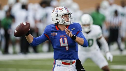 Houston Baptist QB Zappe against FBS opponents