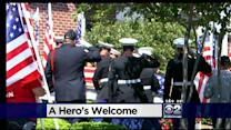 Mourners Pay Respects To Marine Killed In Nepal Crash